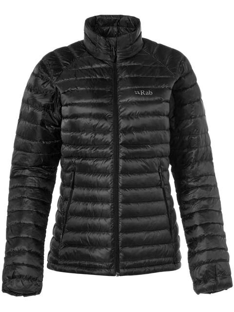 Rab Microlight Jacket Women Black/Seaglass